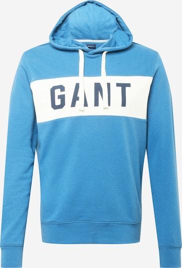 GANT Mikina - kouřově modrá / chladná modrá / bílá, Produkt
