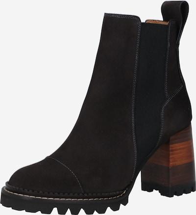 See by Chloé Chelsea Boots 'Mallory' en marron / brun foncé, Vue avec produit