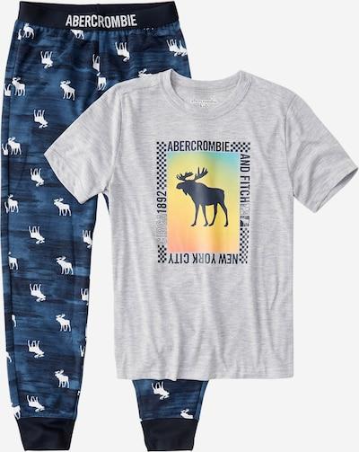 Miego kostiumas iš Abercrombie & Fitch , spalva - tamsiai mėlyna / margai pilka / mišrios spalvos, Prekių apžvalga