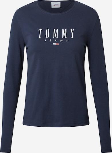 Tricou Tommy Jeans pe navy / roșu deschis / alb, Vizualizare produs