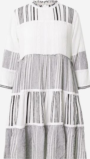 Flowers for Friends Robe 'Patch' en noir / blanc, Vue avec produit