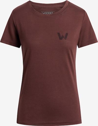 Woodee T-Shirt in de kleur Rood, Productweergave