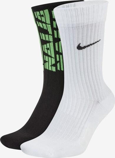 Nike Sportswear Socken in schwarz / weiß, Produktansicht