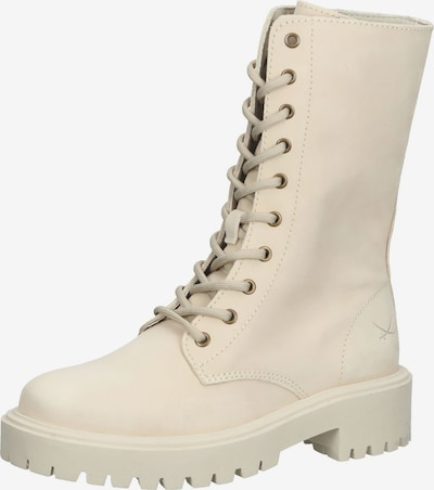 SANSIBAR Lace-Up Ankle Boots in Beige, Item view