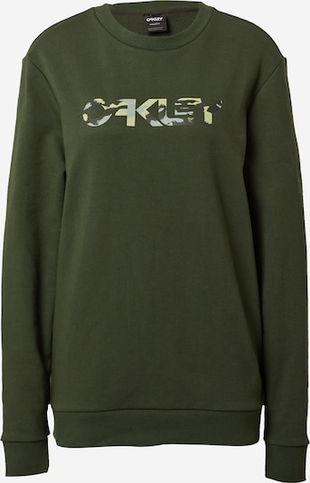 OAKLEY Sports sweater in olive / mixed colours, Item view