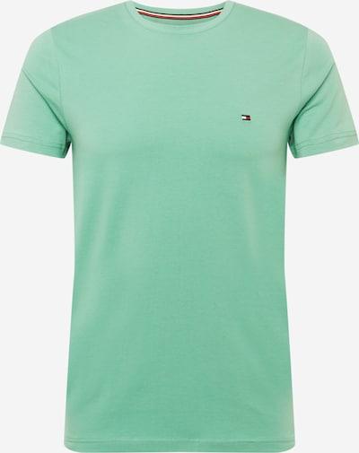 TOMMY HILFIGER T-Shirt en menthe, Vue avec produit