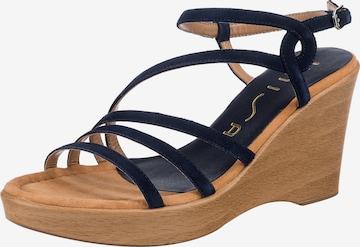 UNISA Sandale  'Rabal' in Blau