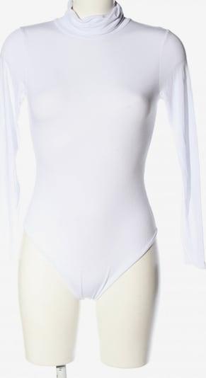 Boohoo Basic-Body in S in weiß, Produktansicht