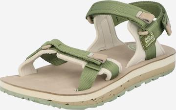 JACK WOLFSKIN Sandaal, värv roheline