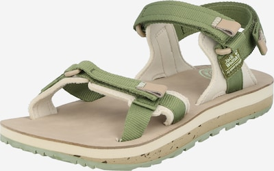 JACK WOLFSKIN Sandal 'OUTFRESH DELUXE' in Beige / Khaki, Item view