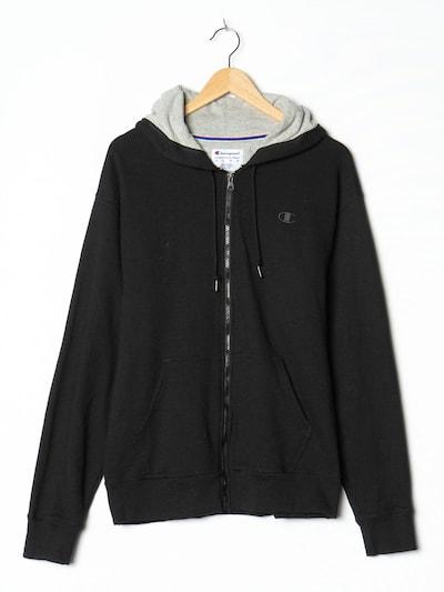 Champion Authentic Athletic Apparel Kapuzenpullover in L-XL in schwarz, Produktansicht