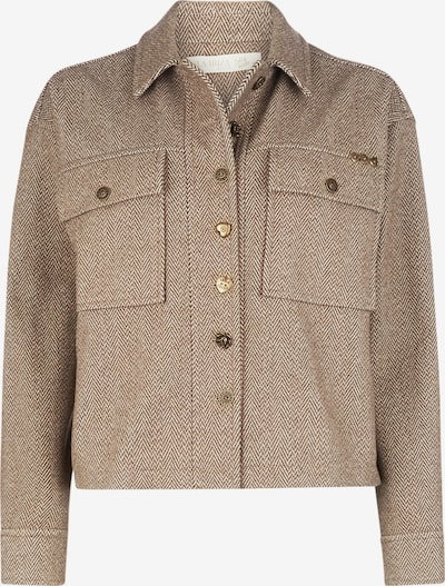 Isla Ibiza Bonita Jacket 'HERRINGBONE' in beige / braun, Produktansicht