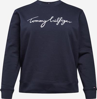 Tommy Hilfiger Curve Sweatshirt in de kleur Donkerblauw / Wit, Productweergave