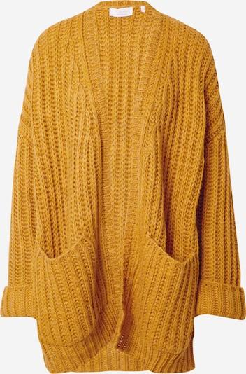Rich & Royal Strickjacke in gelb, Produktansicht