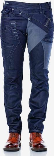 CIPO & BAXX Jeanshose in dunkelblau, Produktansicht