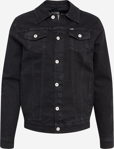 !Solid Jacke 'Peyton' in black denim, Produktansicht