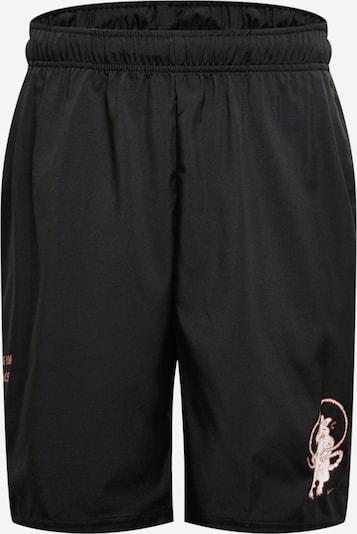 NIKE Sportbroek in de kleur Lichtrood / Zwart / Wit, Productweergave