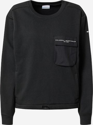 COLUMBIA Athletic Sweatshirt 'Lodge III' in Black