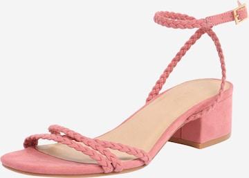 ABOUT YOUSandale s remenčićima 'Madita' - roza boja