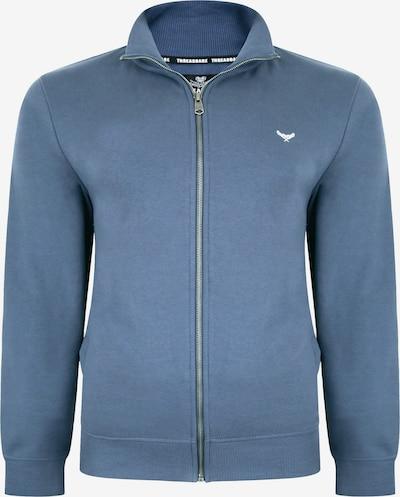 Threadbare Sweatjacke in blau / weiß, Produktansicht