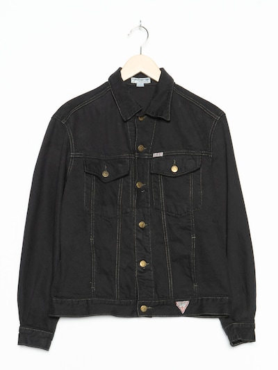 GUESS Jeansjacke in M in black denim, Produktansicht