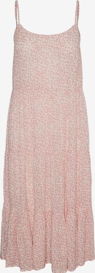VERO MODA Robe d'été 'Muti' en rose / blanc, Vue avec produit