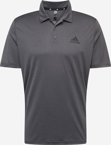 pelēks ADIDAS PERFORMANCE Sporta krekls