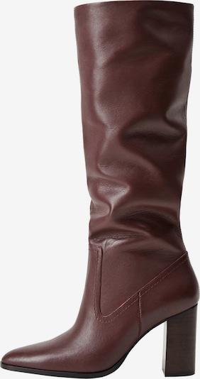MANGO Laarzen 'Boby' in de kleur Robijnrood, Productweergave