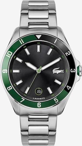 LACOSTE Zegarek analogowy w kolorze srebrny