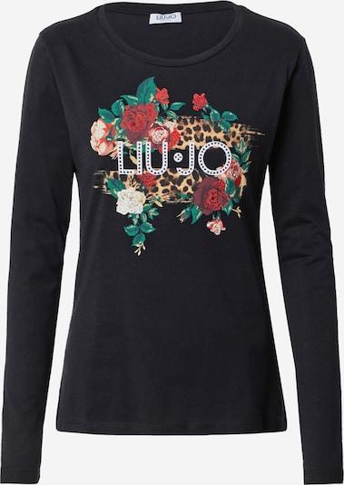 LIU JO JEANS Μπλουζάκι σε ανάμεικτα χρώματα / μαύρο, Άποψη προϊόντος