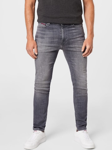 Jeans 'SIMON' de la Tommy Jeans pe negru