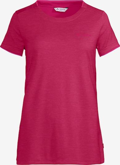 VAUDE T-Shirt in merlot, Produktansicht