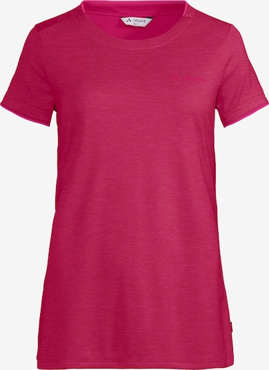 VAUDE T-Shirt in merlot: Frontalansicht