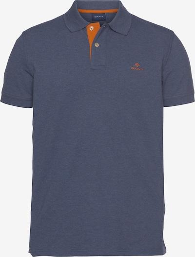 GANT Poloshirt in blaumeliert / orange, Produktansicht