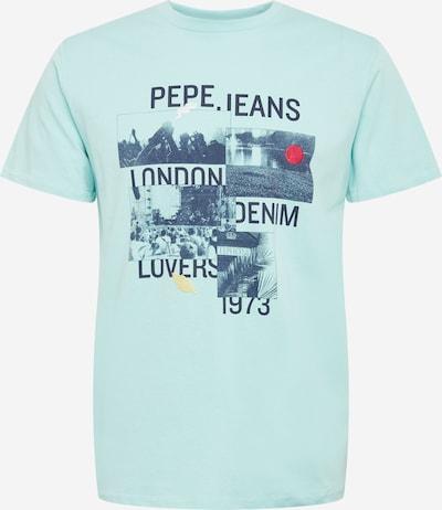 Pepe Jeans Tričko 'MILES' - námořnická modř / světlemodrá / pastelově žlutá / grenadina, Produkt
