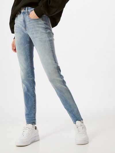 G-Star RAW Jeans 'Lhana' in blue denim, Modelansicht