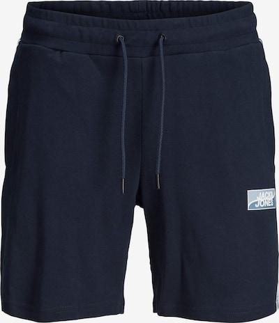 Jack & Jones Plus Pantalon en bleu marine / bleu clair / blanc, Vue avec produit
