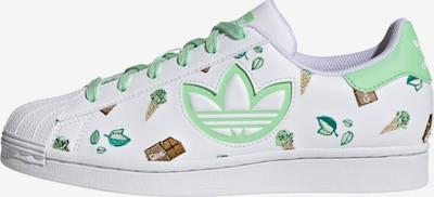 ADIDAS ORIGINALS Madalad ketsid 'Superstar' roheline / mündiroheline / valge, Tootevaade