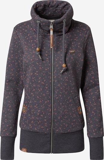Ragwear Sweat jacket 'RYLIE' in Night blue / Caramel / Salmon, Item view