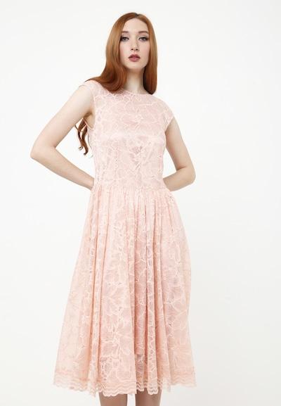 Madam-T Kleid 'Lotta' in puder, Modelansicht