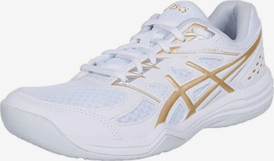 ASICS Athletic Shoes 'Upcourt 4' in yellow gold / White, Item view