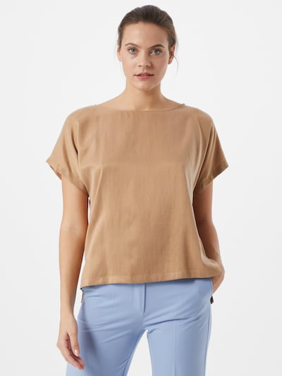 DRYKORN Bluse 'Somia' in beige, Modelansicht