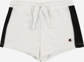 Pantaloni de la Champion Authentic Athletic Apparel pe alb