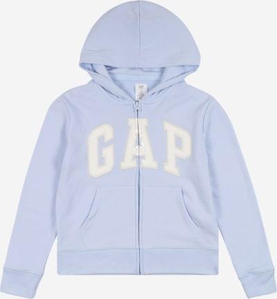 GAP Sweatjacke in hellblau / weiß, Produktansicht