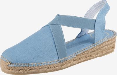 Toni Pons Sandale in hellblau, Produktansicht