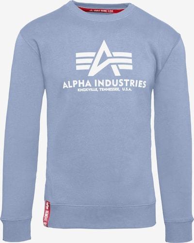 ALPHA INDUSTRIES Sweatshirt in blau, Produktansicht