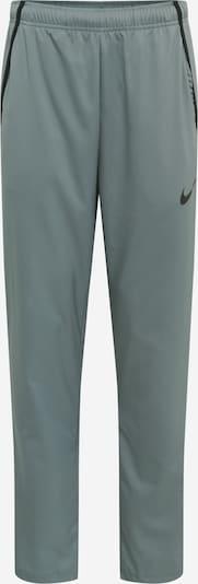 NIKE Pantalón deportivo en gris oscuro / negro, Vista del producto
