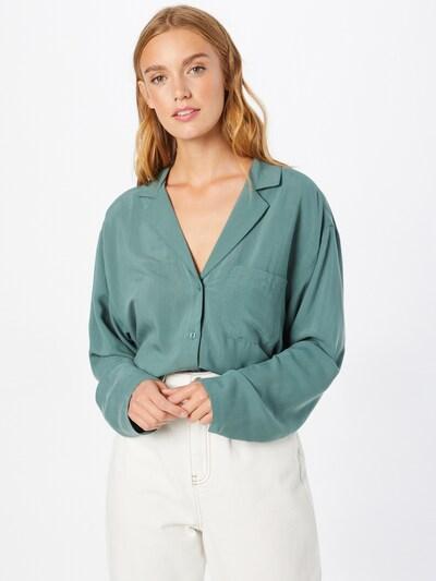 WEEKDAY Bluse in pastellgrün, Modelansicht