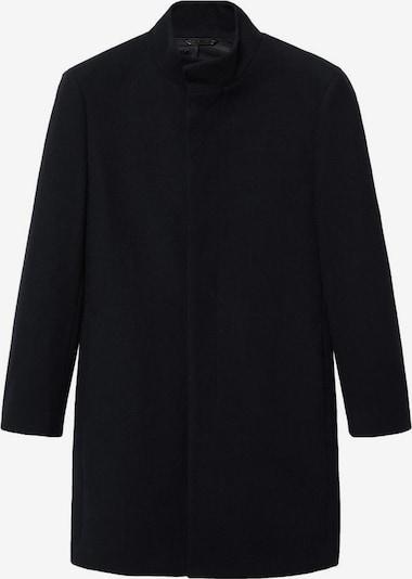 Palton de primăvară-toamnă MANGO MAN pe negru, Vizualizare produs