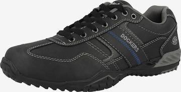 pelēks Dockers by Gerli Sporta apavi ar šņorēm